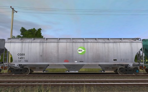 CGEX Trinity 3-Bay Covered Hopper