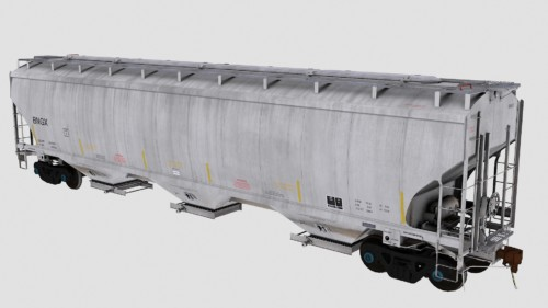 BNGX Trinity 3-Bay 5461cf Covered Hopper