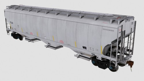 TILX Trinity 3-Bay 5461cf Covered Hopper