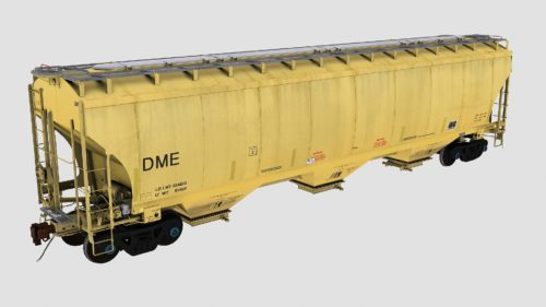 DME Trinity 3-Bay Covered Hopper Pack