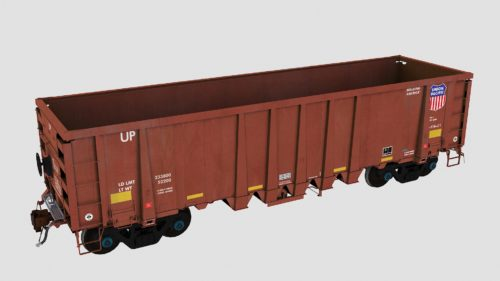 UP 94100-94449 National Steel Car 2500cf Aggregate Gondola
