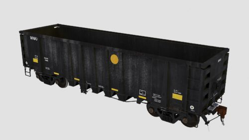 MWAX 3001-3145 National Steel Car 2500cf aggregate gondola