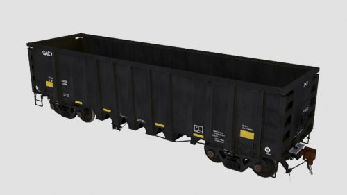 GACX 55120-55169 National Steel Car 2500cf aggregate gondola